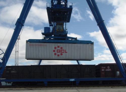 Перевозка из Китая в Россию по маршруту Шанхай – Приволжский и Южный Федеральные округа